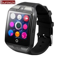 Reloj inteligente Para Android Teléfono Con Ranura Para Tarjeta Sim Empuje Mensaje Conectividad Bluetooth Android Teléfono música Mejor batería 500mA