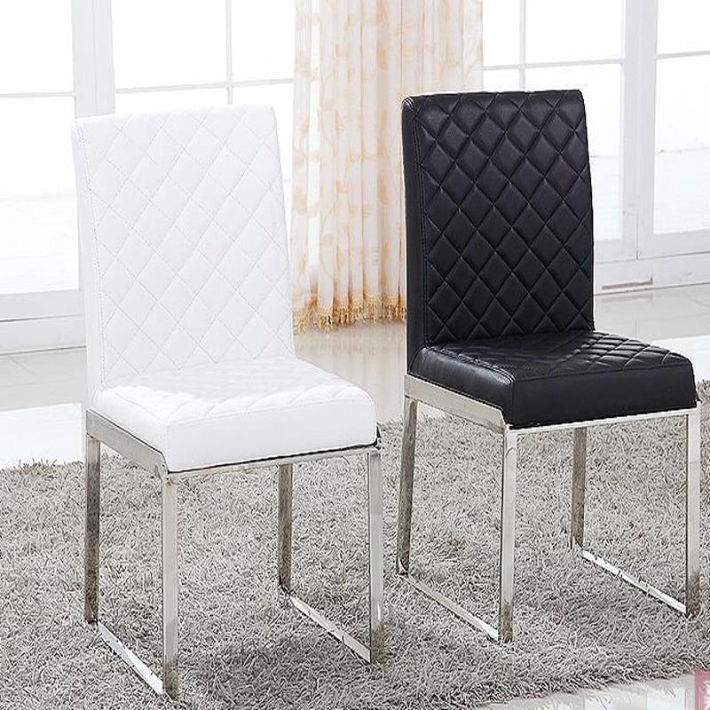 Neue Mode Leder Esszimmerstuhl Wohnzimmer Möbel