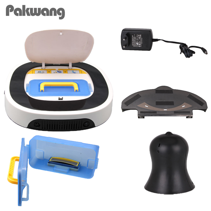 PAKWANG 2018 Home Robot Wireless Vacuum Cleaner White SQ-D5501 Robot Vacuum Cleaner Wet And Dry Mop Free Shipping