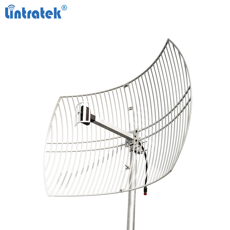 Lintratek 2g 3g Aerial Outdoor Antenna Powerful Large Coverage 2100Mhz Grid Antenna For Gsm Umts Signal Repeater Booster #6.8
