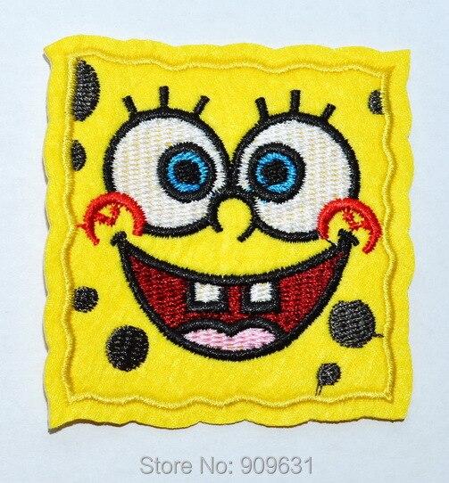 Spongebob Squarepants Iron on or Sew on Patch