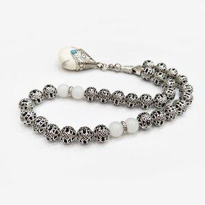 Image 2 - Мусульманский подарок, мусульманский тасбих, мусульманский тасбих с серебряным покрытием