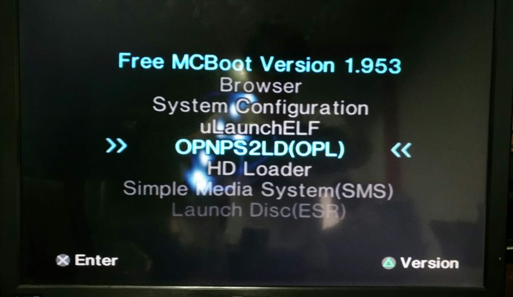 PS2 8MB FMCB Free MCboot v1.953