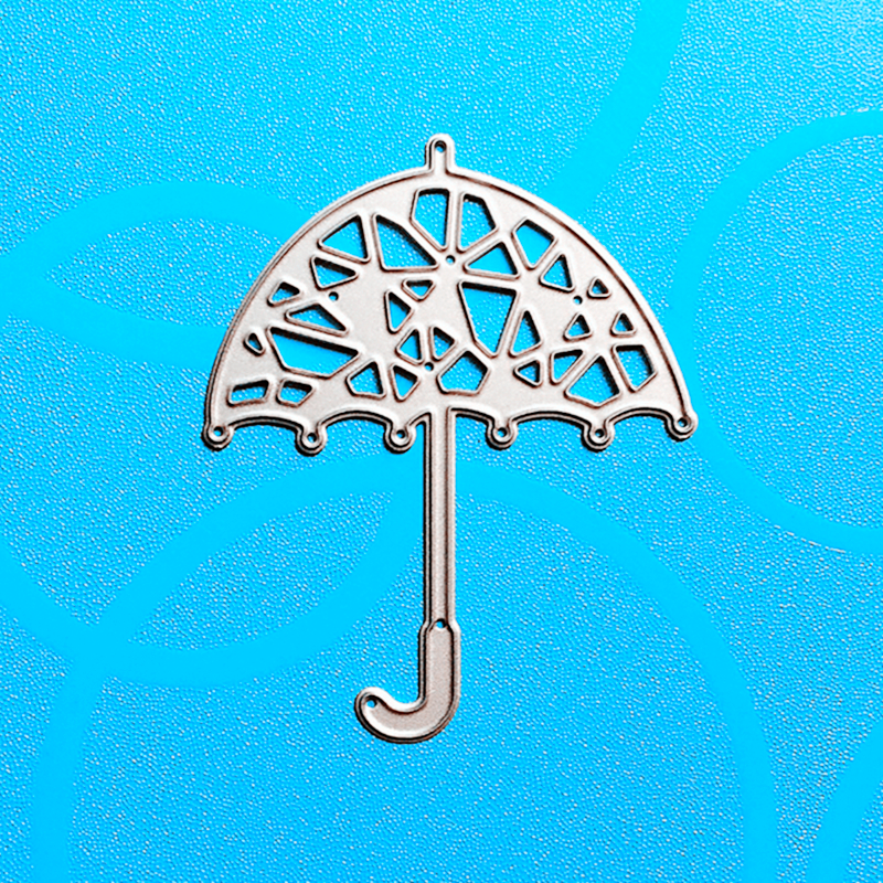 YINISE 601 umbrella Metal Cutting Dies For Scrapbooking Stencils DIY Album Cards Decoration Embossing Folder Die Cutter Template in Cutting Dies from Home Garden