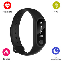 2018 M2 Inteligente Banda Chamada SMS Lembrete Inteligente Pulseira Bluetooth Heart Rate Monitor de Fitness Rastreador Sono Pulseira para Android IOS