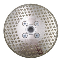 4 5 Electroplated Diamond Cutting Grinding Disc M14 Flange 125mm Granite Marble Saw Blade Grinder Disk