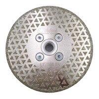4 5 Electroplated Diamond Cutting Grinding Disc M14 Flange 125mm Granite Marble Saw Blade Grinder Disk