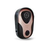 720 P Sem Fio Interfone Telefone Video Da Porta Campainha Intercom IP WI-FI