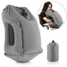 XC USHIO Надувной Спальный мешок для путешествий Портативный Подушка Шейная подушка для Для мужчин Для женщин открытый самолет полета поезд спать легко
