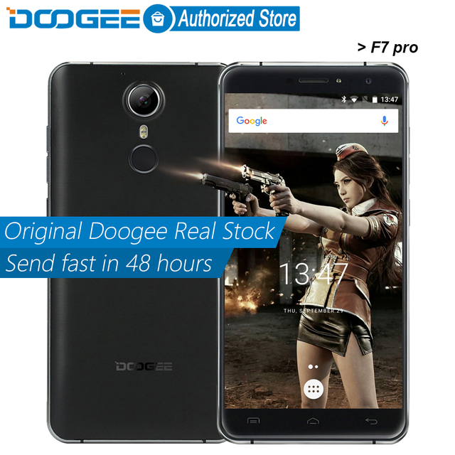 DOOGEE F7 pro mobile phones 5.7Inch FHD 4GB RAM+32GB ROM Android6.0 Dual SIM MTK6797 Deca Core 21.0MP 4000mAH GSM WCDMA LTE WIFI