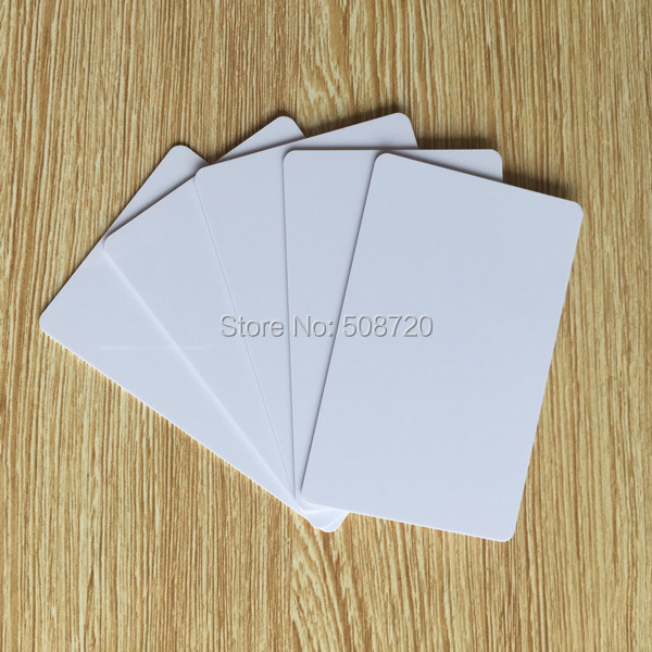 TK4100 4102 /EM 4100 blank RFID card Thin pvc ID Card smart chip card 200pcs/lot free shipping 20pcs lot contact sle4428 chip gold card with magnetic stripe pvc blank smart card purchase card 1k memory free shipping