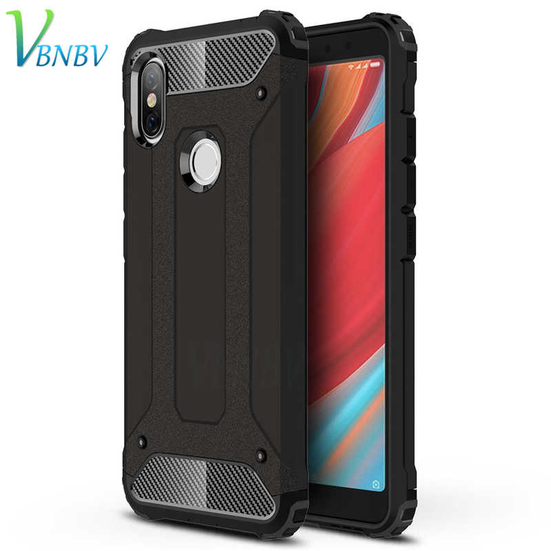 VBNBV Full Shockproof Protective Phone Case For Xiaomi Redmi 4A 5A 6A 4X 5 PLus PC+TPU Armor Cover For Redmi Note 4 5 6 Pro case