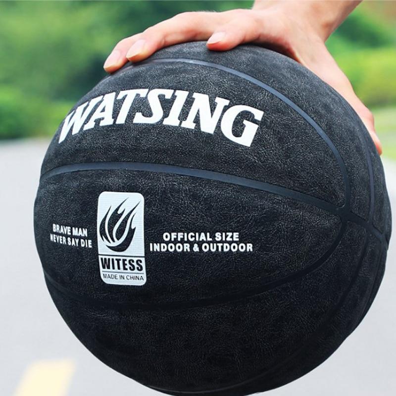 10 цветов настоящий внутренний и наружный цемент износостойкая кожа из воловьей кожи на ощупь мягкая кожа 7 # molting basketball