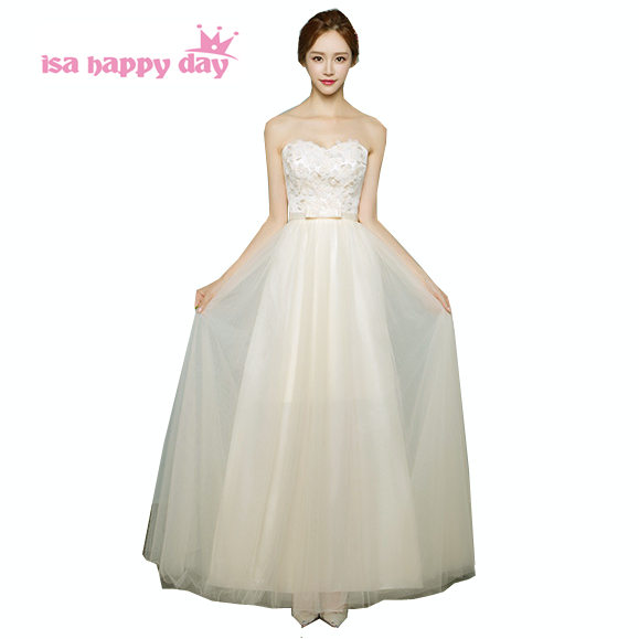 ̿̿̿(•̪ )Formales muy dulce 16 formal novia sin tirantes Top vestidos ...