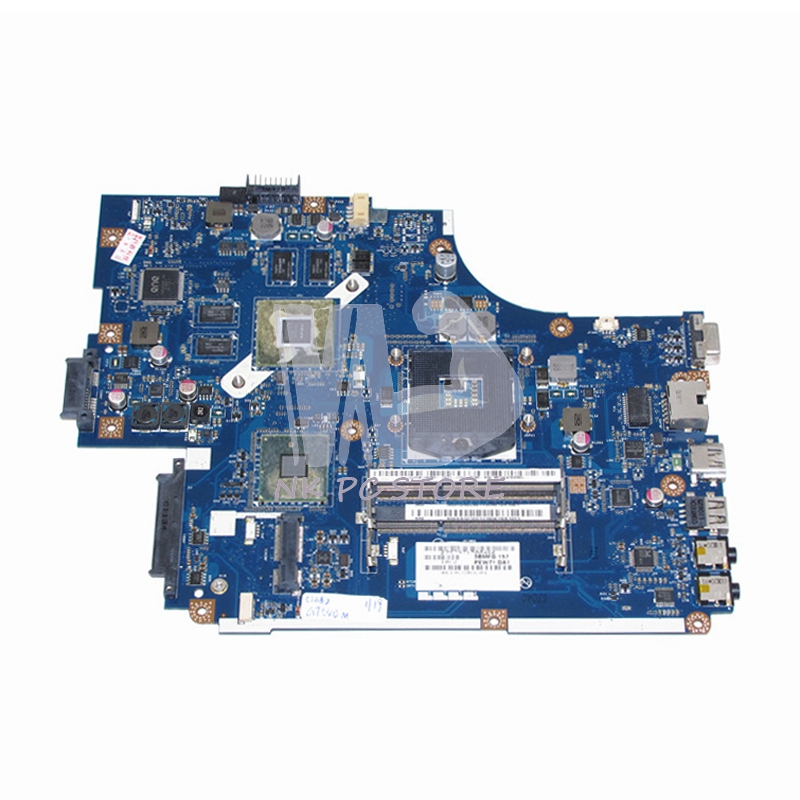 MBRB902001 MB.RB902.001 For Acer aspire 5742 5742G Laptop Motherboard PEW71 LA-5894P HM55 DDR3 Discrete Graphics 1GB original laptop motherboard for acer 5742 pew71 la 6582p mb r4l02 001 mbr4l02001 ddr3 integrated graphics card 100