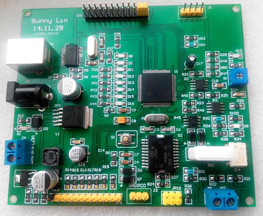 цена на DC motor drive development board, robot joint motor drive board, robot motor drive board