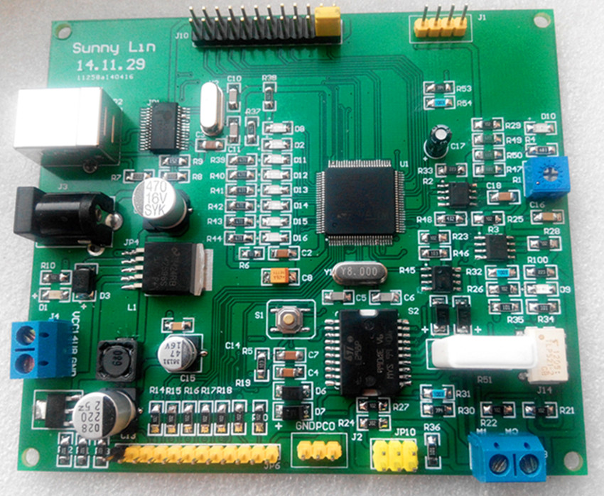 DC motor drive development board, robot joint motor drive board, robot motor drive board interver drive board pc00351h