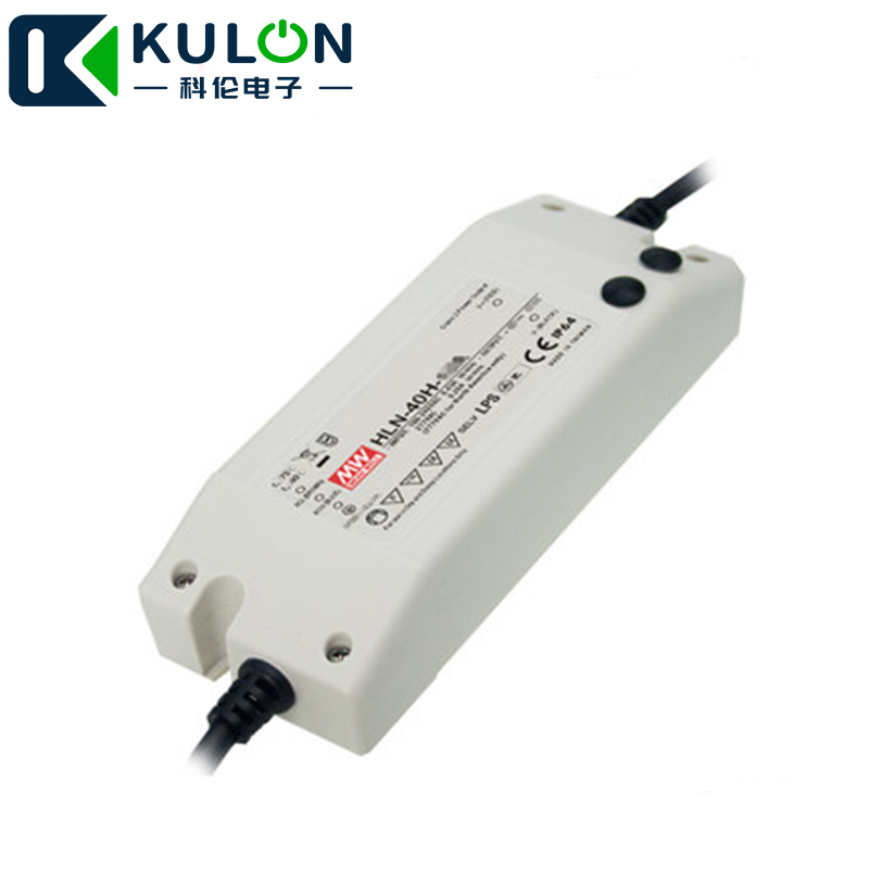 MEANWELL HLN 40H 30A 30V 1.34A 40.2W single putput switching power supply built in active PFC function Switching Power Supply     - title=