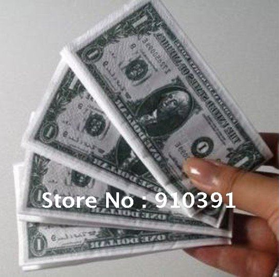Good Quality Eco-friendly USD Napkin Paper Handkerchief,Dollar Facial Tissue Olympic Games Tissue For Restaurant Paper Towel!