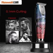 Профессиональная машинка для стрижки волос, электрический триммер для волос с точностью до 0 мм, домашний парикмахерский инструмент