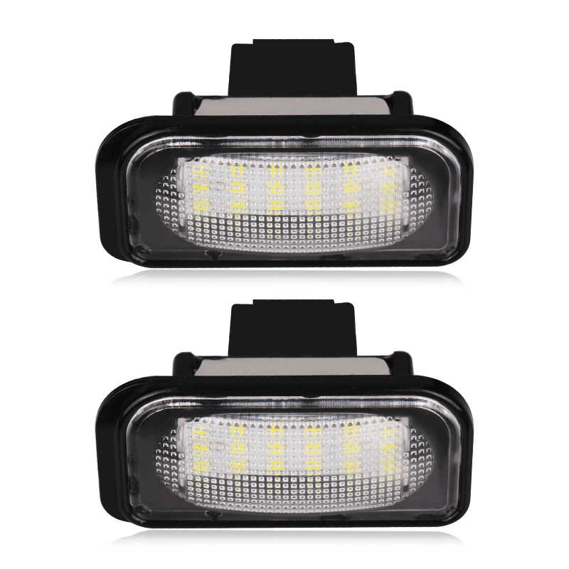 detail feedback questions about urbanroad 2pcs 12v 6000k car ledurbanroad 2pcs 12v 6000k car led license plate lights for mercedes w203 4d led number plate
