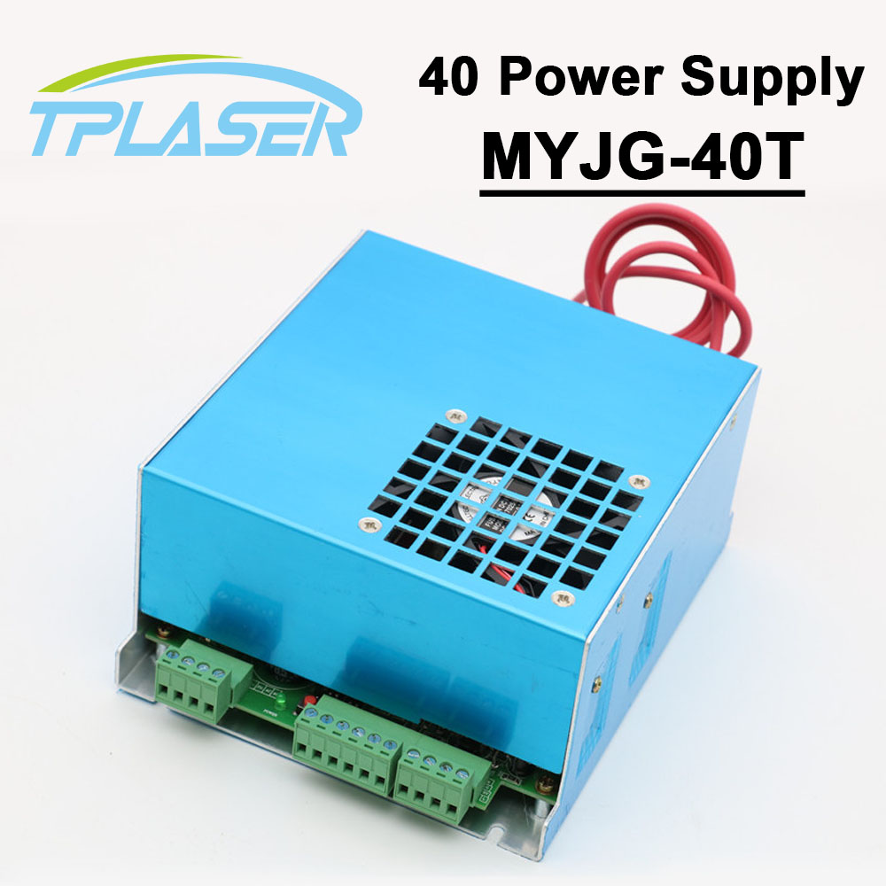 110V 220V CO2 Laser Power Supply 40W MYJG-40T for CO2 Laser Engraving Cutting Machine 35-50W 50w co2 laser power supply for co2 laser engraving cutting machine myjg 50w