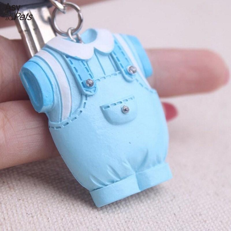 LumiParty Baby Keepsake Baby Clothes Key Chain Favors Wedding birthday holiday Gift -30