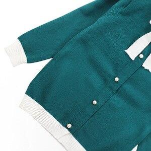 Image 4 - Winter Girls Sweater Clothing Set Kids Warm Knitwear Sweater & Skirt 2 Pieces Dress Suit Teenage Kids Overall Winter Girls