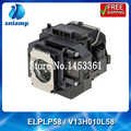 100% Original ELPLP58/V13H010L58 with housing lamp for EB-S10 EB-S9 EB-S92 EB-W10 EB-W9 EB-X10 EB-X9  ect.