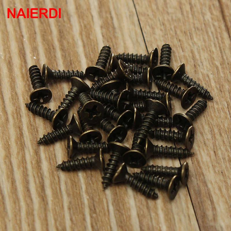 10 個 naierdi 小さなアンティーク金属ロック装飾ハスプフックギフト木製ジュエリーボックス南京錠ネジ家具ハードウェア