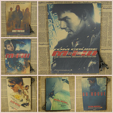 Mission: Impossible - Rogue Nation /Tom Cruise Classic Movie Poster/Kraft Poster/Wall sticker