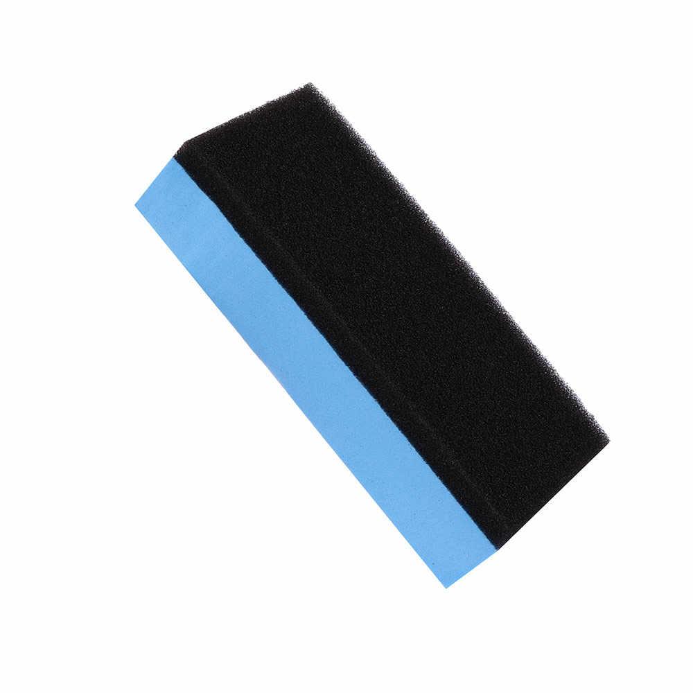 Esponja de cera para el mantenimiento del coche con revestimiento de laca de espuma de lavado de coche