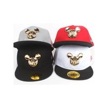 Cartoon sombreros para niños lindo oídos sombreros niños gorras de béisbol  del snapback moda hip hop 11c94648d45