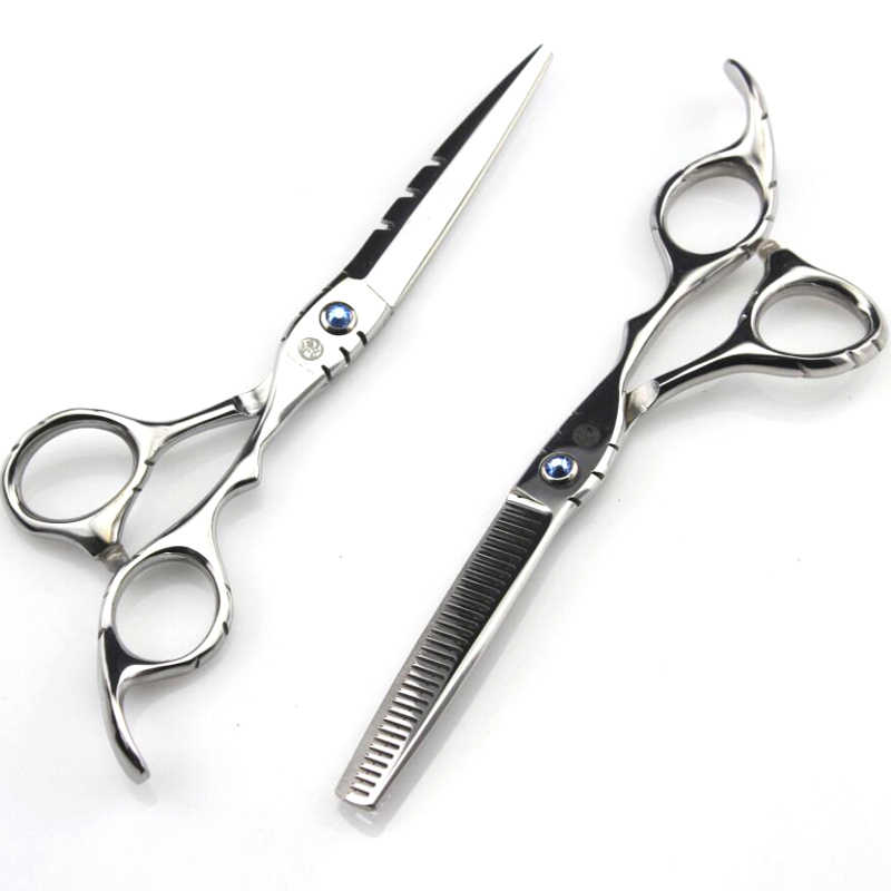 "5.5"" 6.0inch professional hairdresser's scissors hairdressing scissors hair cutting scissors barber thinning shears hair cut"
