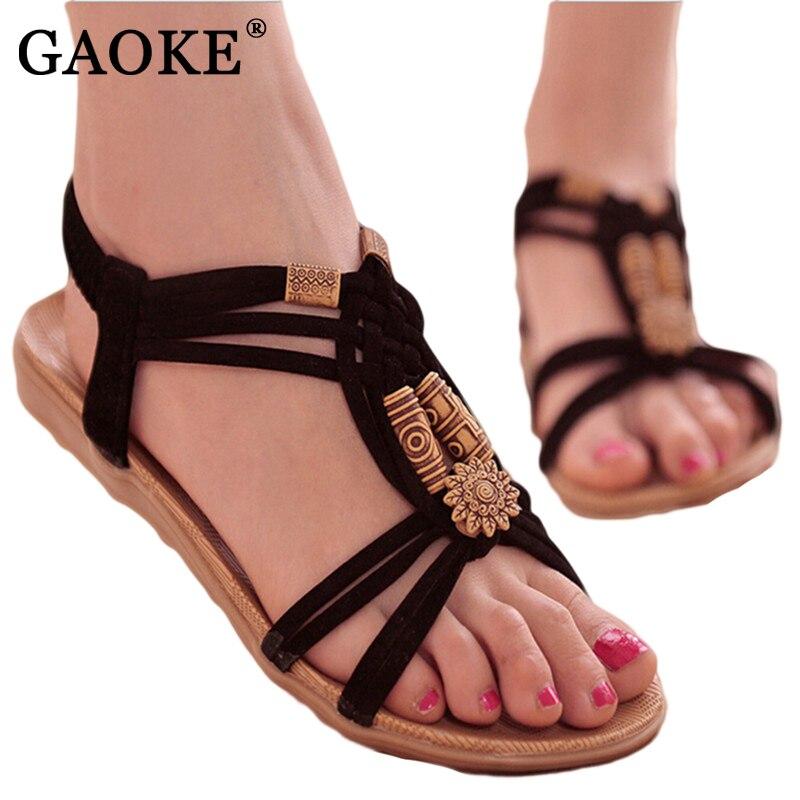 Women Shoes Sandals Comfort Sandals Summer Flip Flops 2018 Fashion High Quality Flat Sandals Gladiator Sandalias