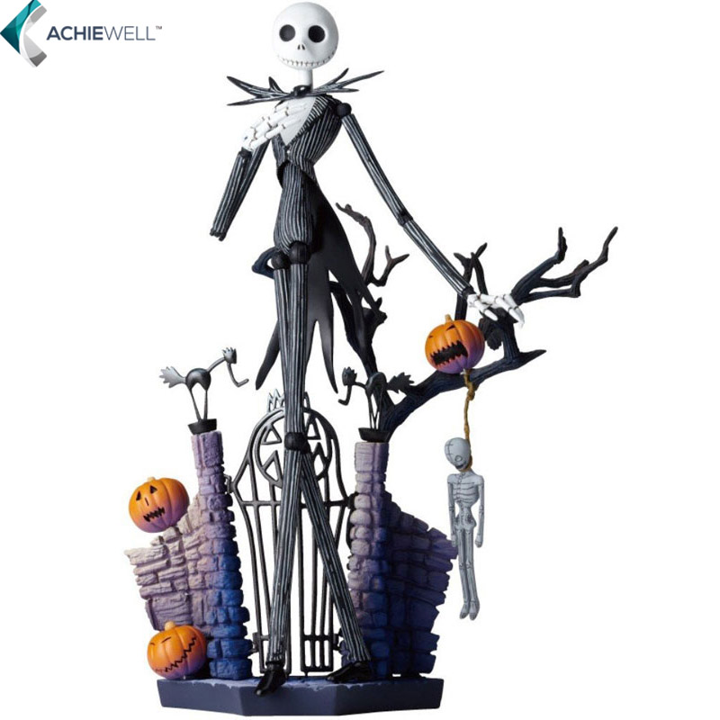 Movie The Nightmare Before Christmas Deluxe Jack Yamaguchi Formula Action Figure Fan Collectible Model Gift For Children Adults timex часы timex tw4b03500 коллекция expedition