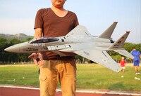 Большой Размеры 1,1 м F15 EPO высокое качество противоударный 4CH 2,4 г Самолет RC дистанционного Управление Орел ястреб типа легкого истребителя