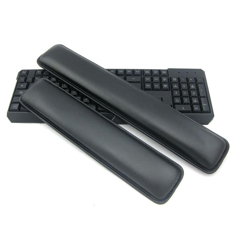 Ücretsiz nakliye oyun klavyesi 104 PU bilek istirahat kol dayanağı mekanik klavye 87 PU palm istirahat destek