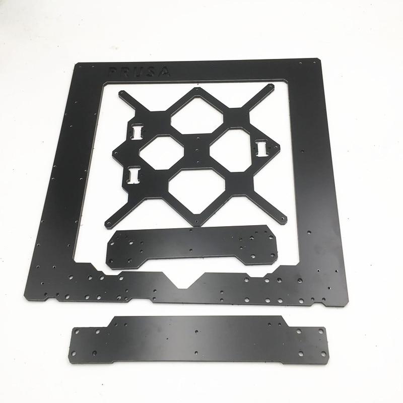 Funssor Reprap Prusa I3 MK3 Frame DIY MK3 I3 Aluminium Composit Single Sheet Frame 6mm Melamine Prusa I3 3D Printer Accessory