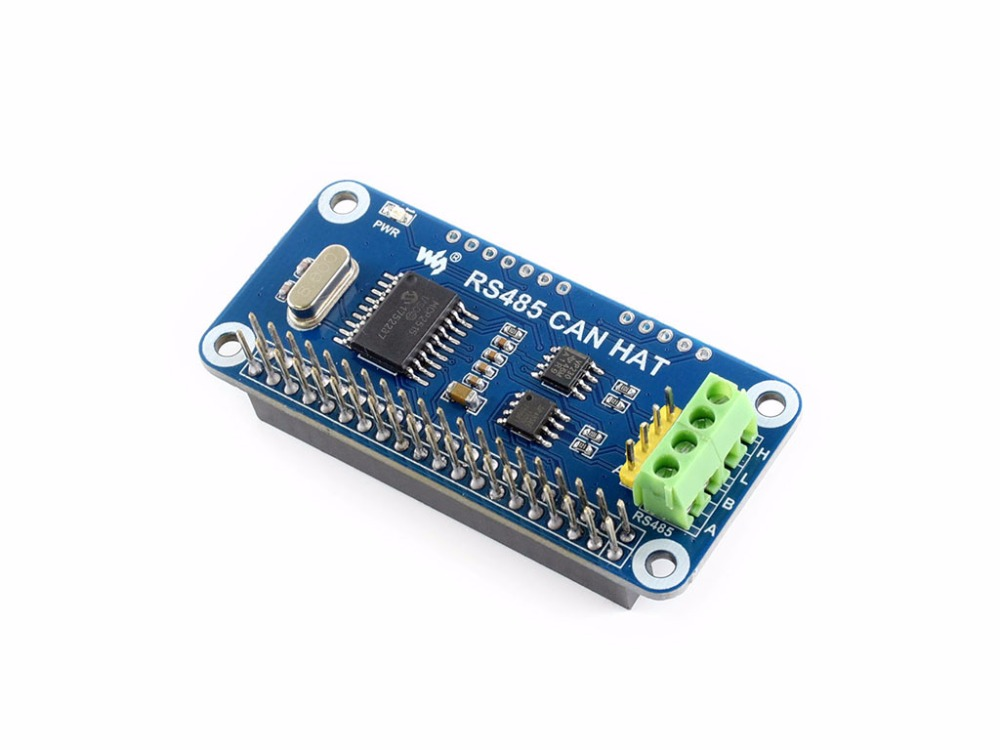 RS485 CAN HAT For Raspberry Pi Allows Stable Long-distance Communication Supports Raspberry Pi Series Boards