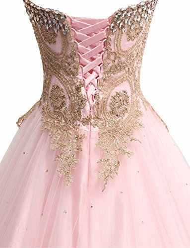 5925647d6844c ANGELSBRIDEP Quinceanera Dress 2019 Fashion Embroidery Vestido 15 Anos  Floor-Length Sweet 16 Debutante Gowns With Luxury Crystal