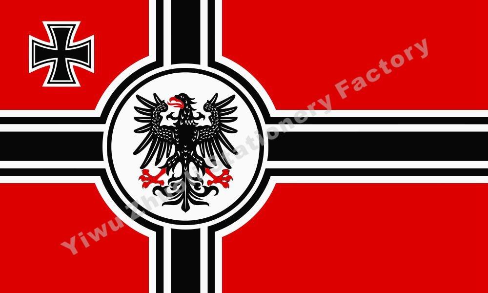 Germany Greater German reich war flag eagle Flag 150X90cm ...