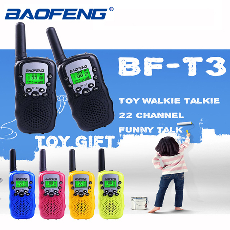Smart 2pcs Baofeng Walkie Talkie Radio 2w Two Way Radio Portable Handheld Transceiver Radio Kids Toys Gift Cellphones & Telecommunications