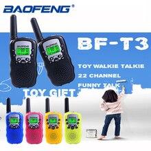 Baofeng BF-T3 Pmr446 Walkie Talkie лучший подарок для детей радио небольшой ручной T3 мини Беспроводной двухстороннее радио детские игрушки Woki Токи