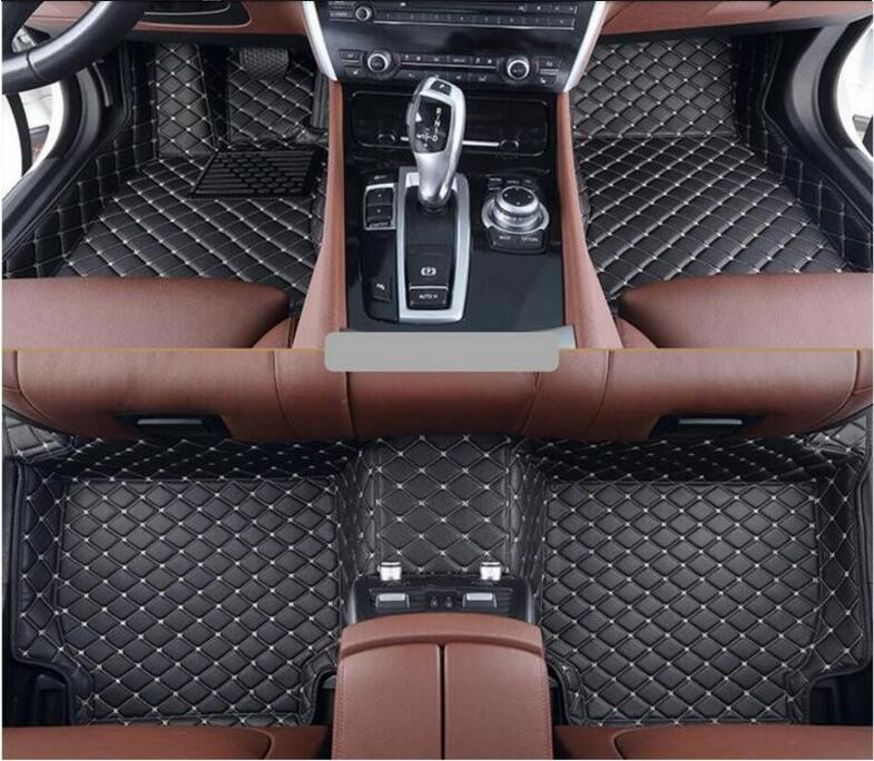 3D Luxury Slush Floor Mats Foot Pad Mat For 15 16 17 Ford F150 F 150 2015 2016 2017 2018 2DOOR/4DOOR (6colors) FREE BY EMS