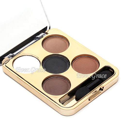5 Colors Makeup Cosmetics Matt Eye Shadow Palette Neutral Warm Matte Eyeshadow