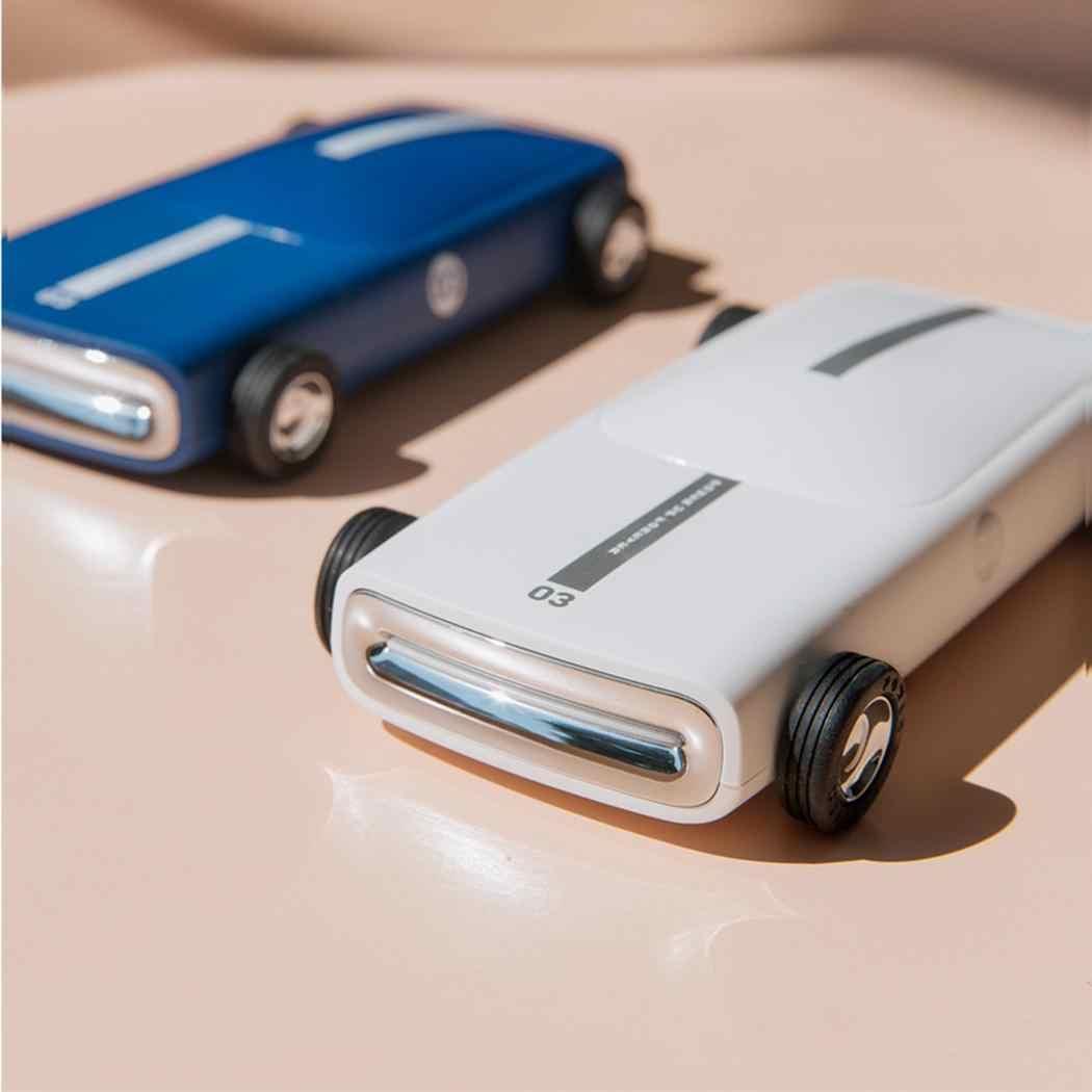 العام سيارة شكل قوة البنك المحمولة الهاتف المحمول الخارجية 10000 mah بطارية 5 V 2.1A البلاستيك DC 5 V 2.1A