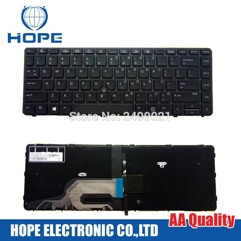 Новая клавиатура для ноутбука HP Probook 430 G3 440 G3 445 G3 с подсветкой