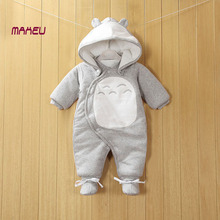 Studio Ghibli My Neighbor Totoro –  Baby Cotton One-piece Thick Hooded Romper