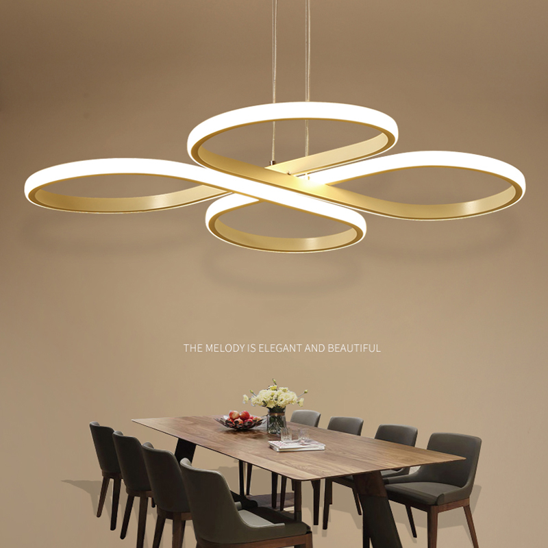 Modern Acylic Art Pendant Lights Restaurant Kitchen Abajur Lamparas Luminaire Dining Room Hanglamp Minimalist Droplight Fixtures